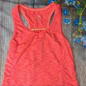 Tangerine Small Coral Performance Tank